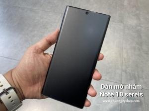 Dán màn hình Galaxy Note10 Plus - BESTSUIT CHỐNG VÂN TAY (dẻo, full)